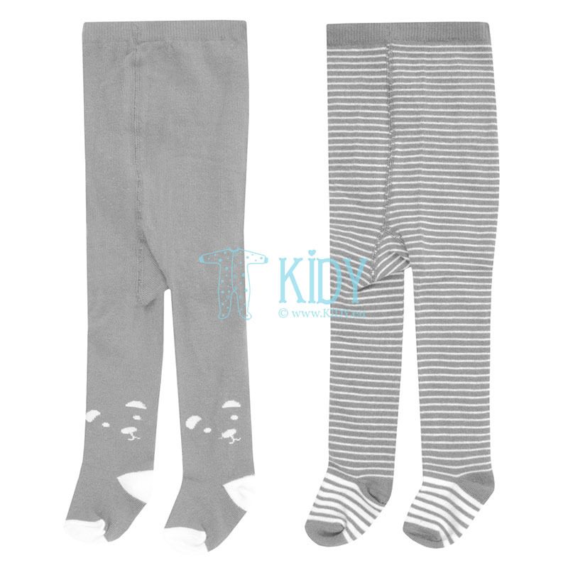 2pcs grey tights set