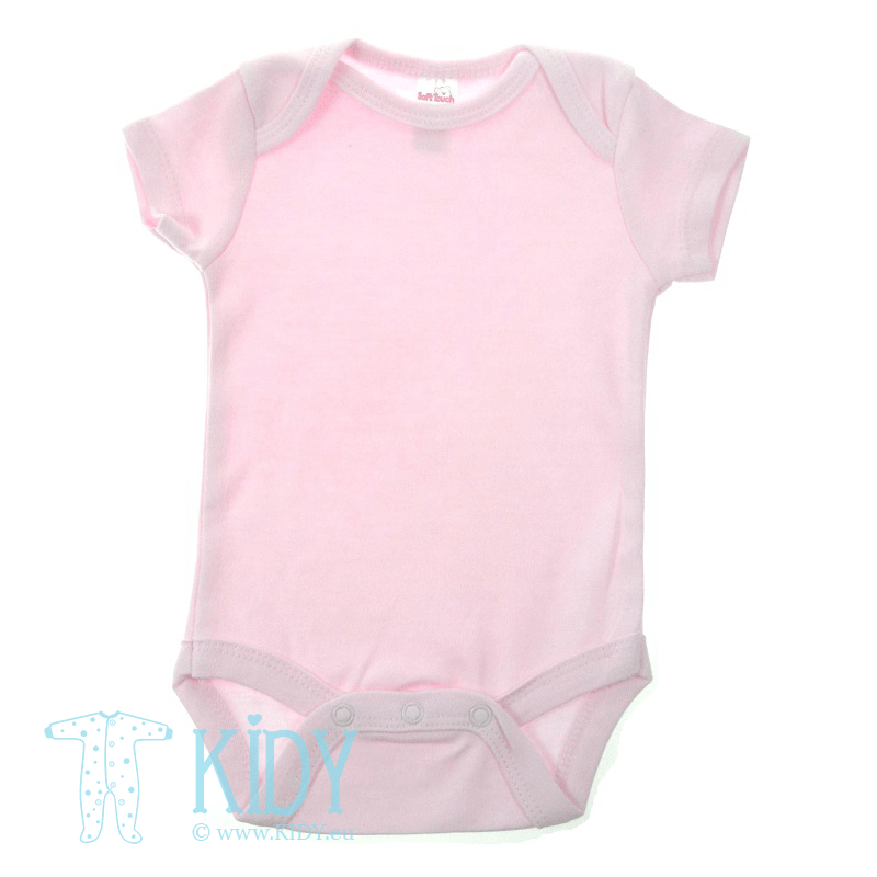 Pink bodysuit PLAIN (Soft Touch)