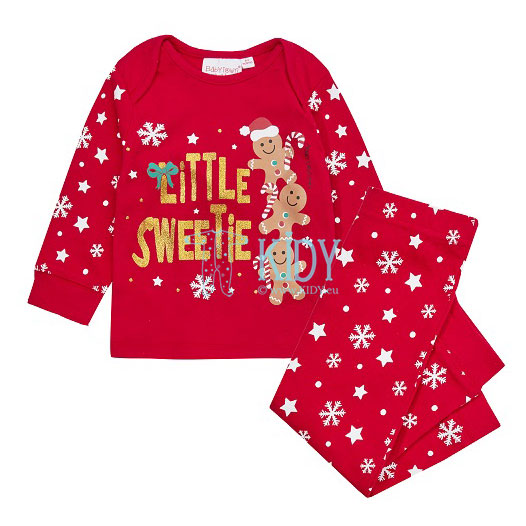 Red LITTLE SWEETIE pyjama
