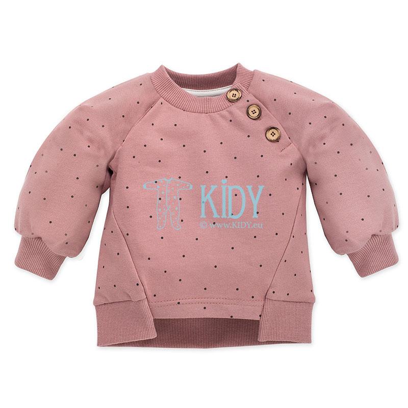 Rožinis džemperis PETIT LOU