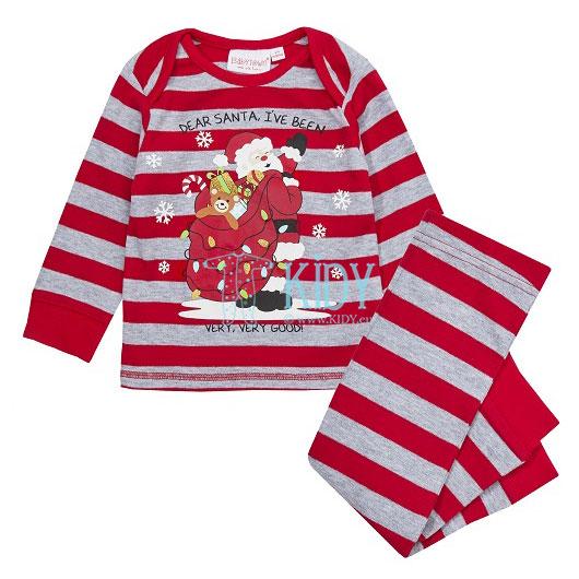 Red DEAR SANTA pyjama