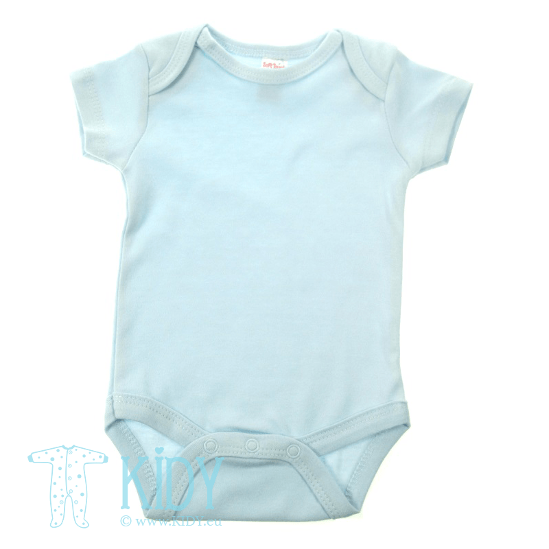 Blue bodysuit PLAIN (Soft Touch)