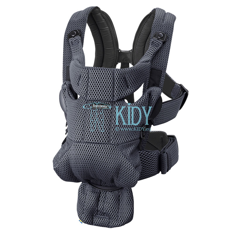 Baby carrier MOVE Anthracite, 3D Mesh