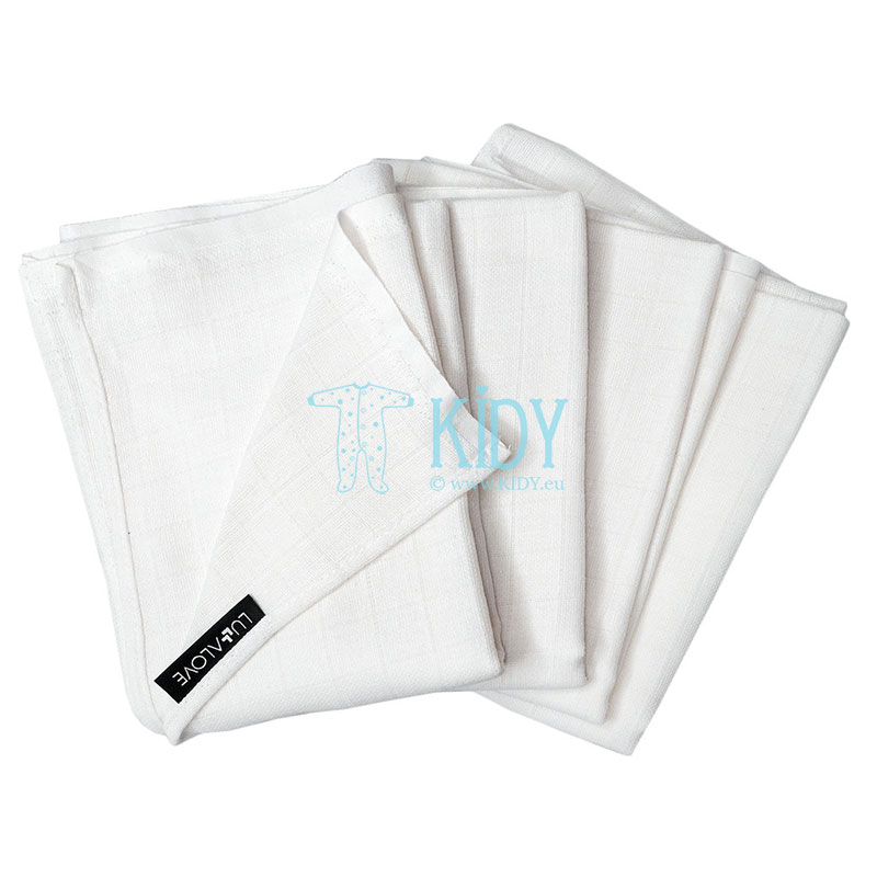 4 pcs muslin wrap set