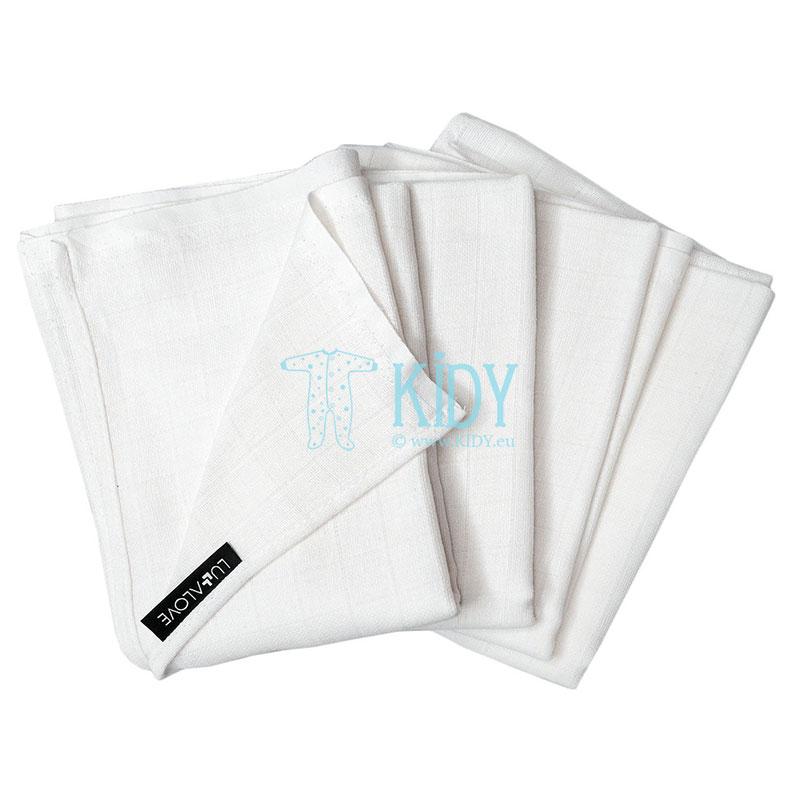 4 muslino servetėlės-vystyklai