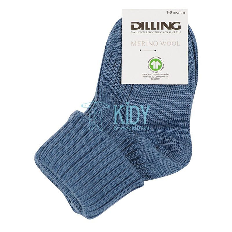 DOVE BLUE merino wool socks