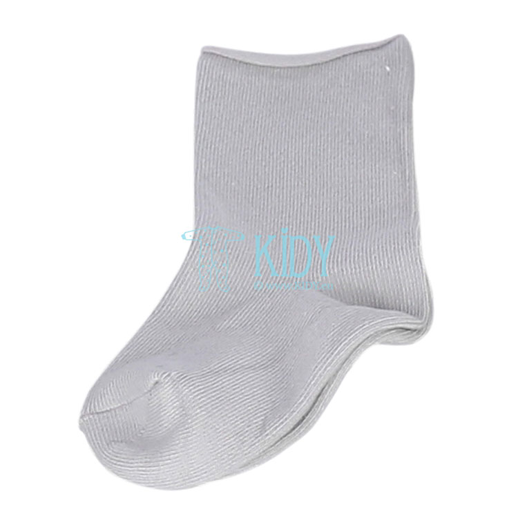 Grey organic cotton socks