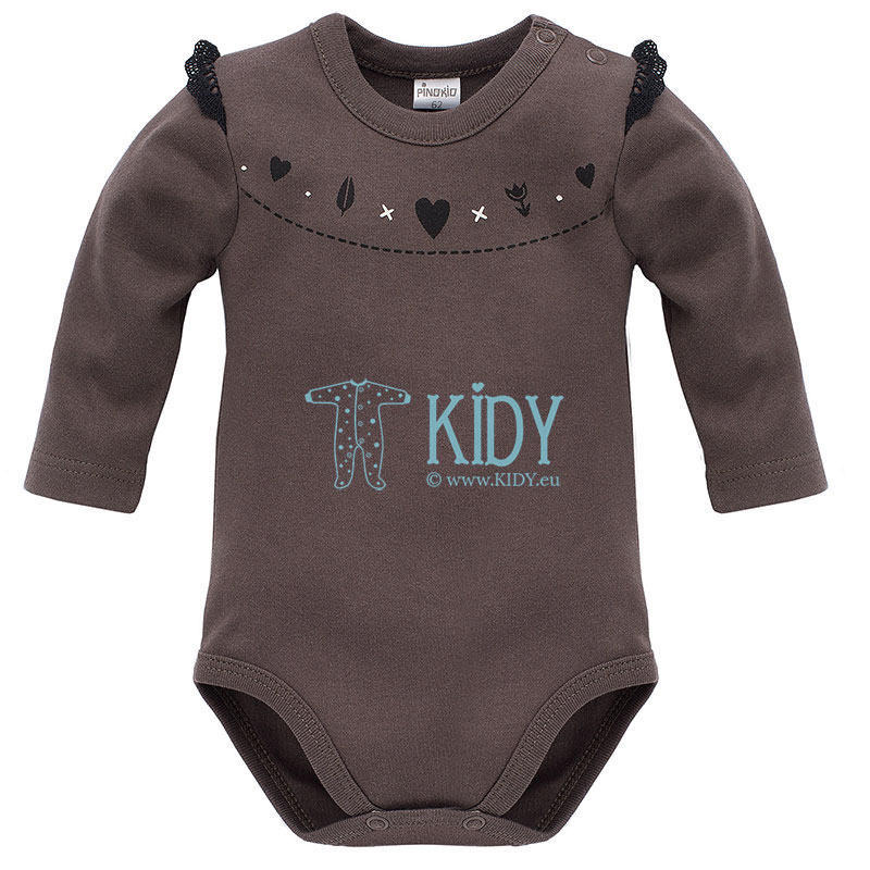 Brown Little Bird bodysuit