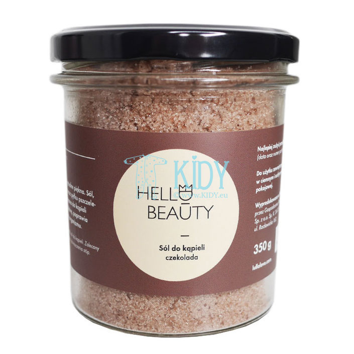 Chocolate bath salt