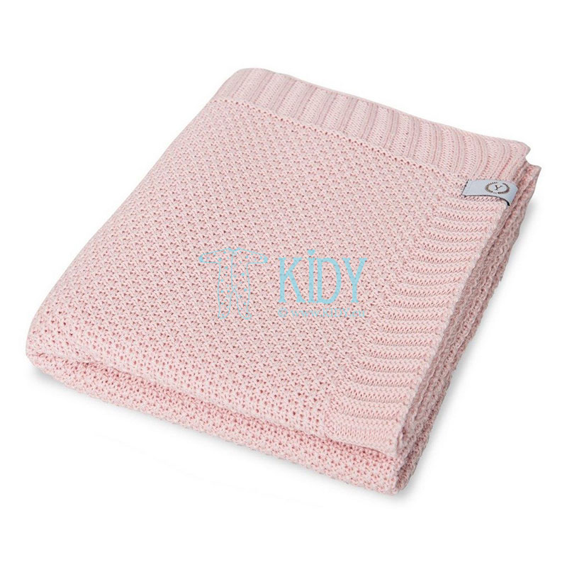 Pink knitted SPRING RICE plaid