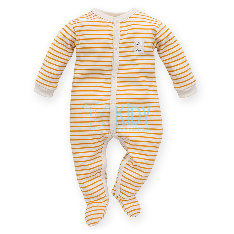 Yellow Nice Day sleepsuit