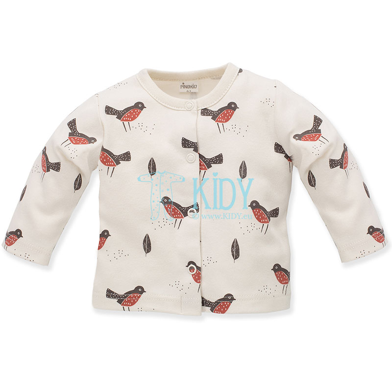 Ecru Little Bird shirt