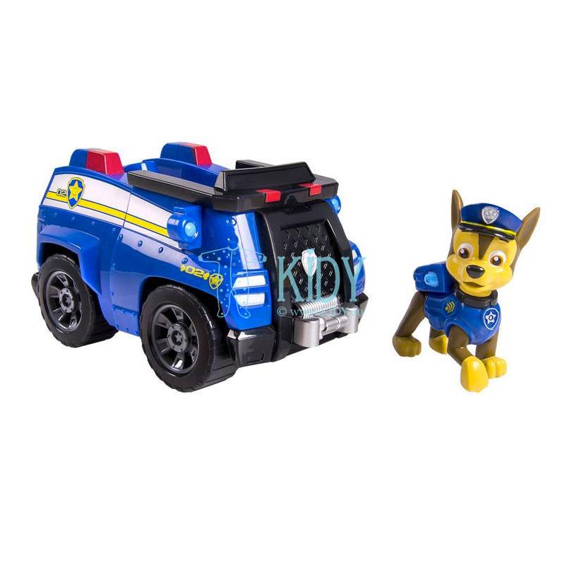 Chase ir jo policijos patrulių automobilis (Paw Patrol)