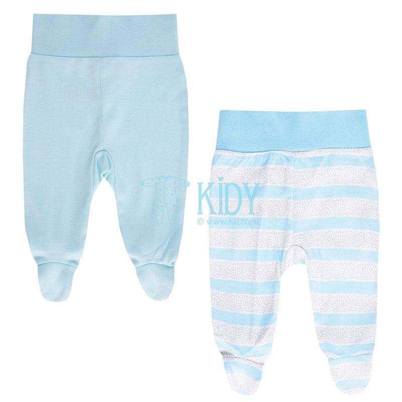 2pcs MACHINERY footed pants set