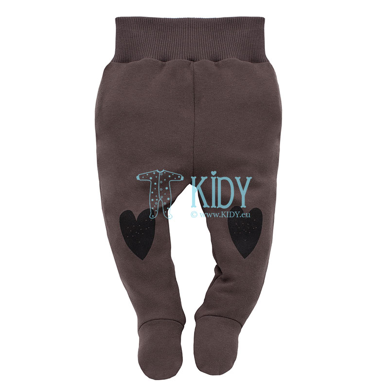 Brown Little Bird footed pants