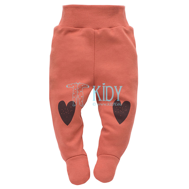 Red Little Bird footed pants