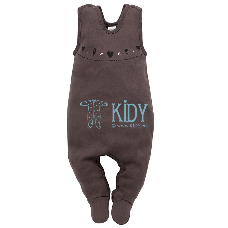 Brown Little Bird dungaree