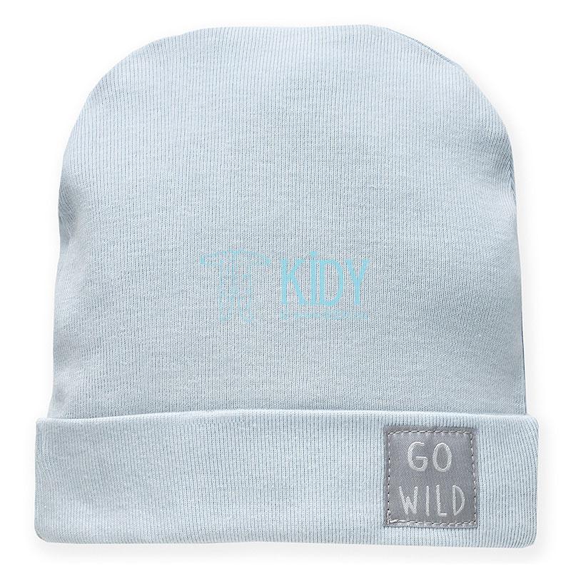 Žydra kepurė WILD ANIMALS