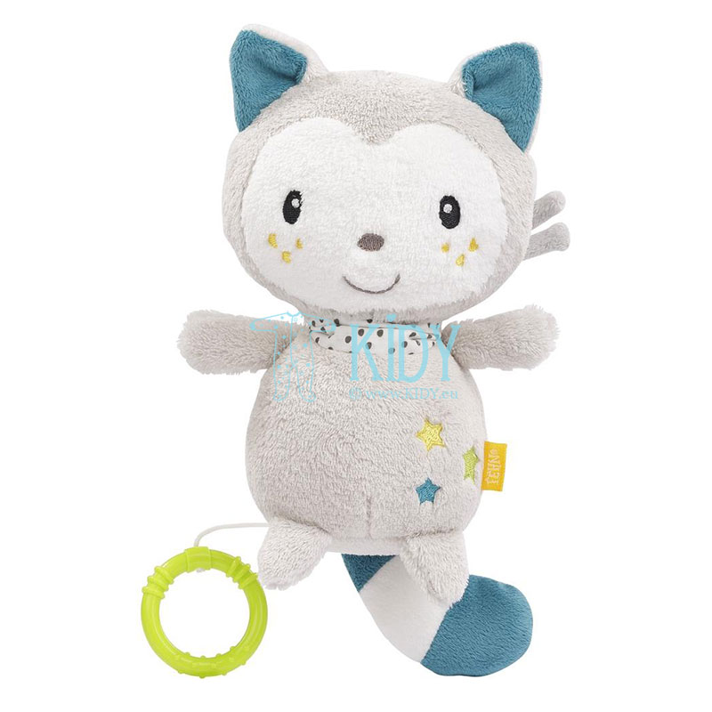 Мягкая музыкальная игрушка-кот