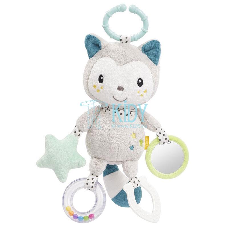 Minkštas žaislas su barškučiu Cat