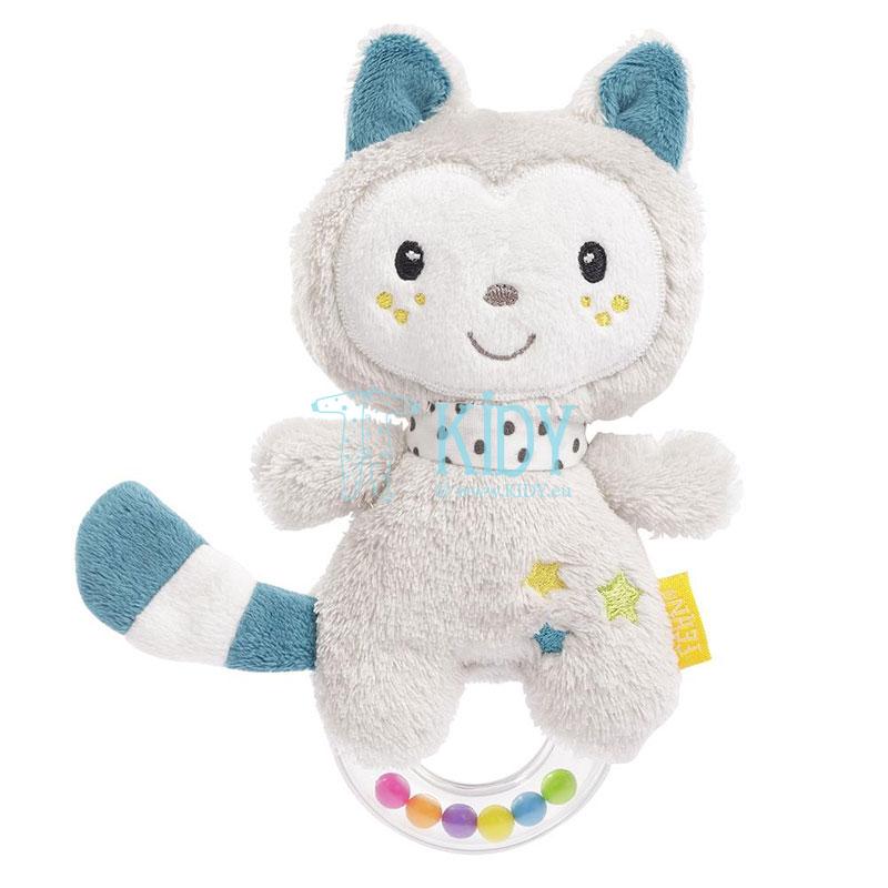Мягкая игрушка-погремушка Cat