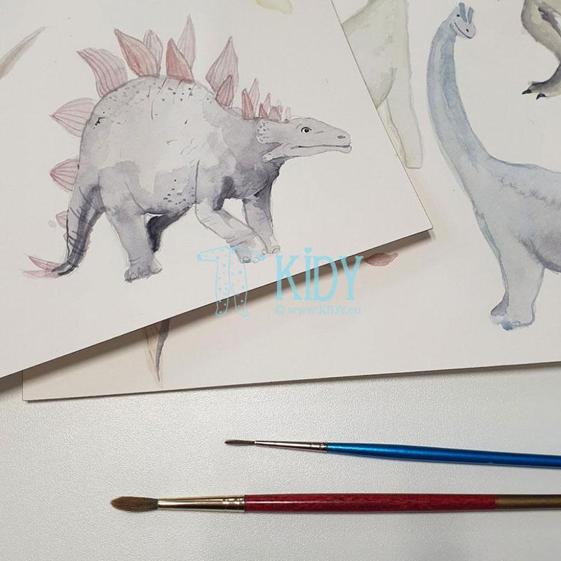 Dvipusis kokonas Dino World (MAKASZKA) 7