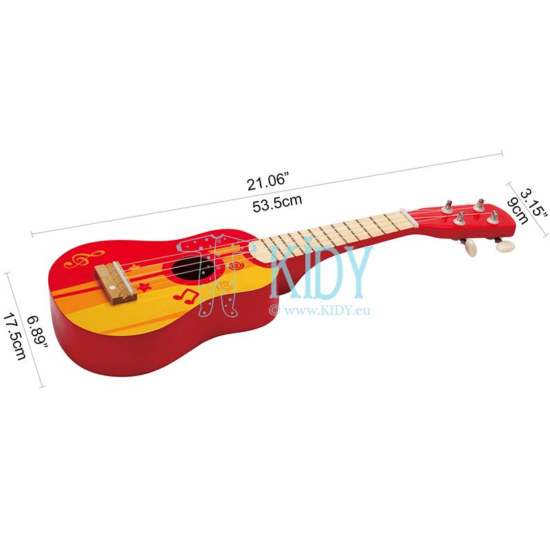 Raudona gitara (Hape) 7