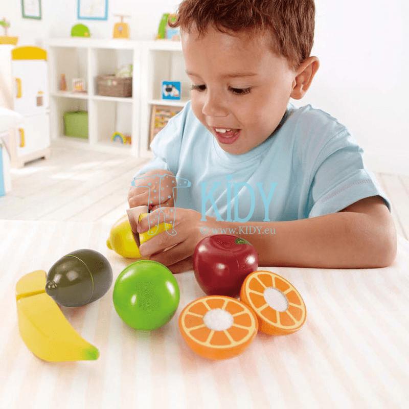 Žaislinis rinkinys Švieži vaisiai FRESH FRUIT (Hape) 7
