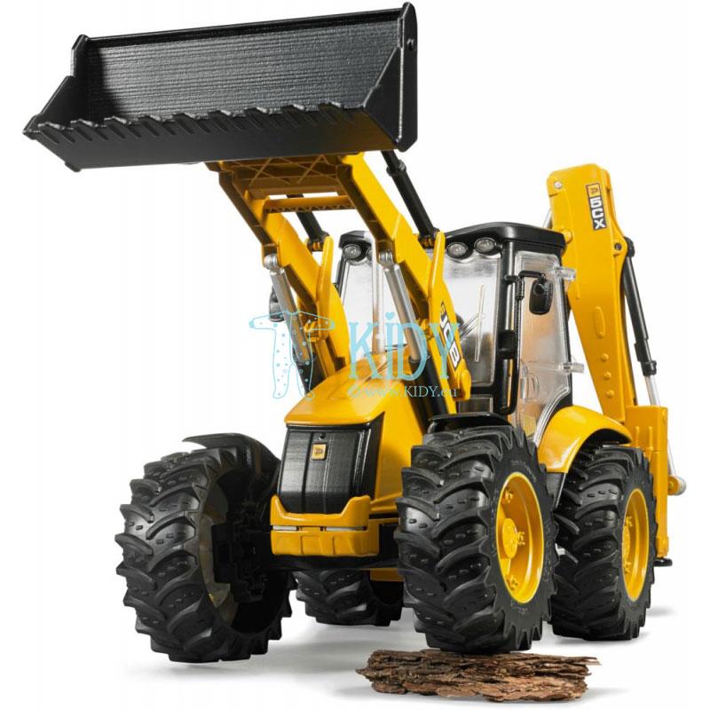 Traktorius su krautuvu JCB 5CX eco Backhoe (BRUDER) 7
