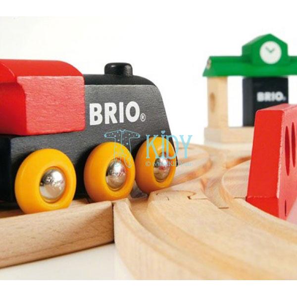 Traukinių rinkinys medinis, 8 dalys (Brio) 7