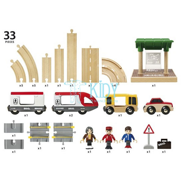 Rail & Road Travel Set (Brio) 7