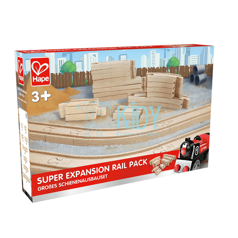 HAPE Super Expansion Rail Pack, E3707 (Hape) 7