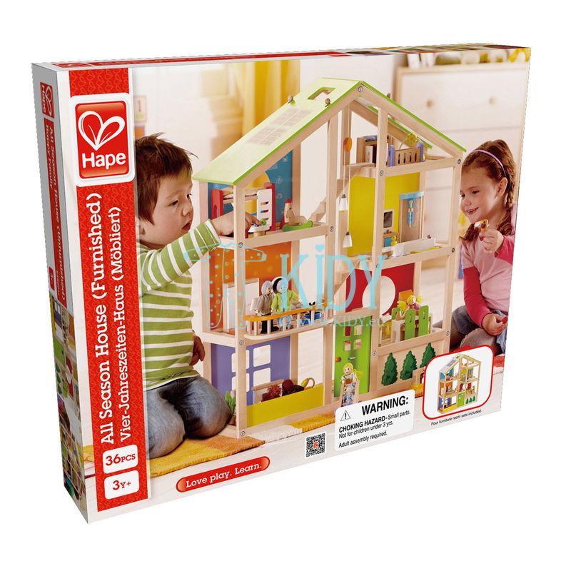 Деревянный игрушечный домик для кукол (Hape) 7