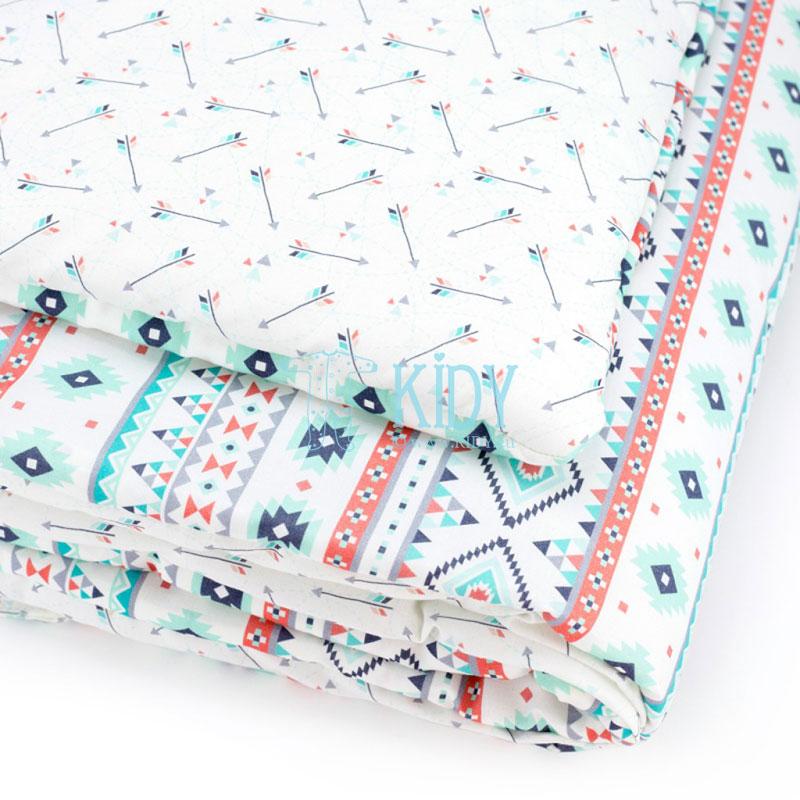 Patalynės komplektas Aztec: antklodė + pagalvė (MAKASZKA) 7