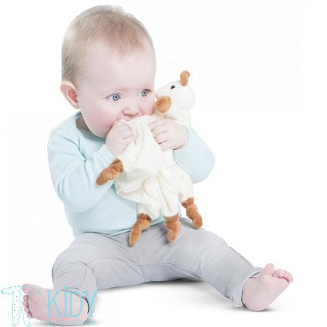 Sophie la girafe kramtukas + migdukas su laikikliu čiulptukui (Vulli) 7