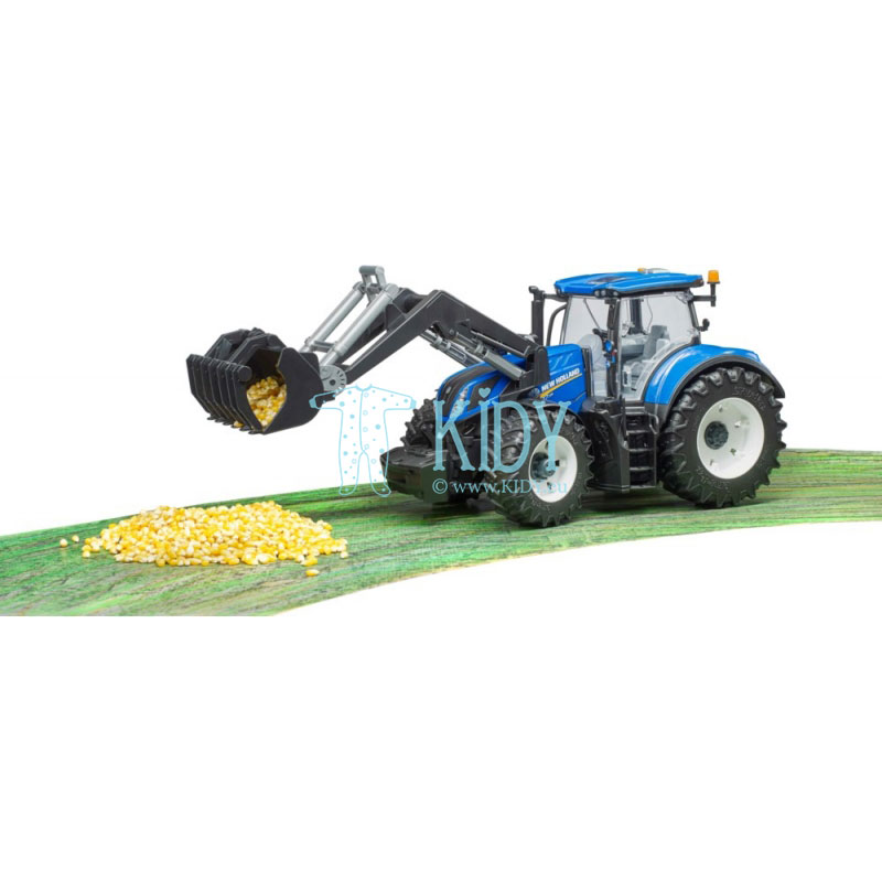 Traktorius su krautuvu New Holland T7.3315 (BRUDER) 7