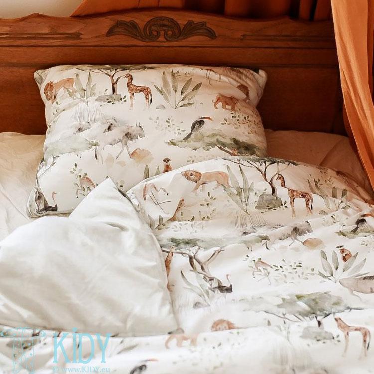 Patalynės komplektas Sawanna: antklodė + pagalvė (MAKASZKA) 7