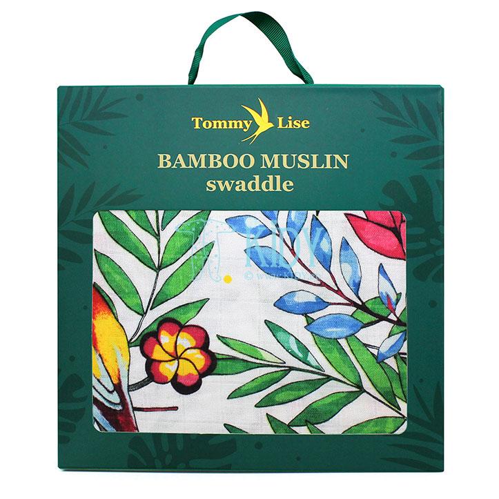 Muslino bambukinis vystyklas BLOOMING DAY (Tommy Lise) 7