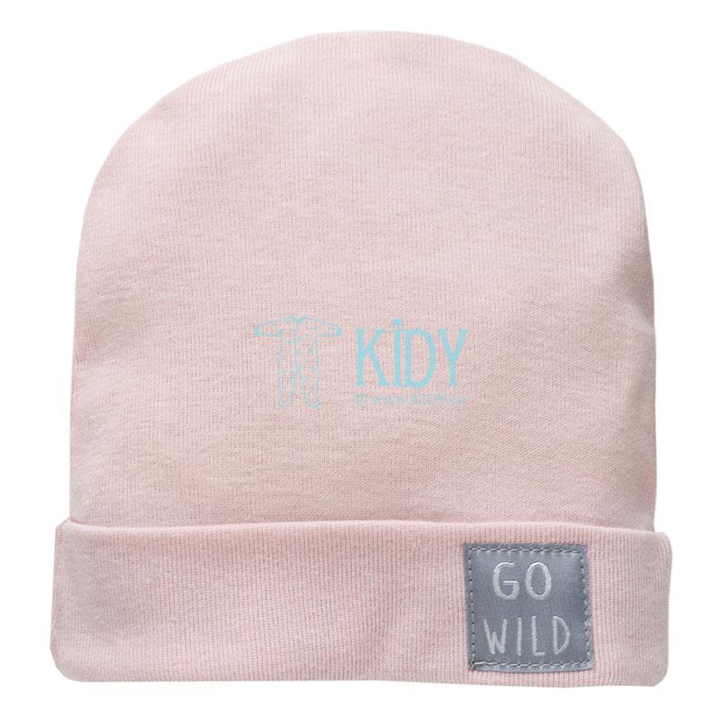 Rožinė kepurė WILD ANIMALS