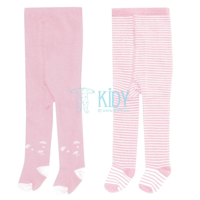 2 pcs pink tights set