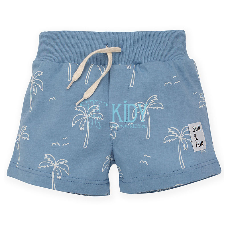 Blue SUN & FUN shorts