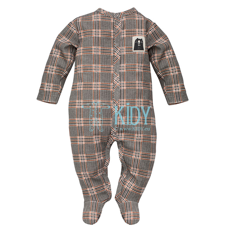 Checked THE BEARS CLUB sleepsuit
