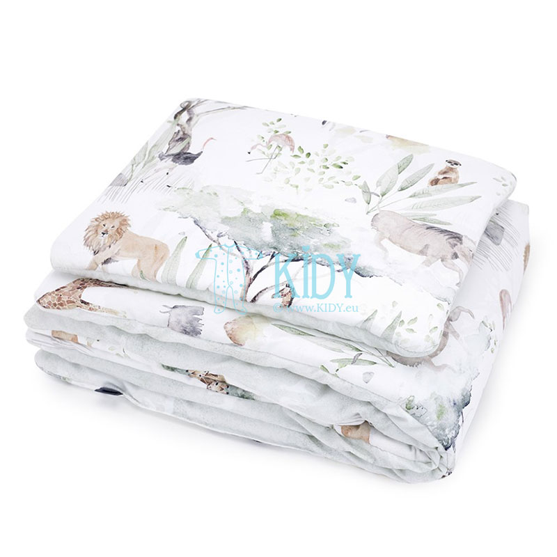 Bedding Sawanna set: duvlet + pillow
