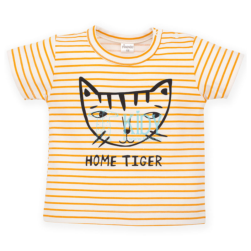 Striped NICE DAY T-shirt