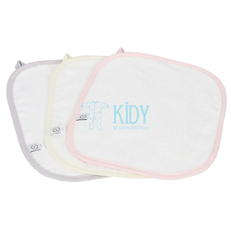 3 pcs organic cotton towels set
