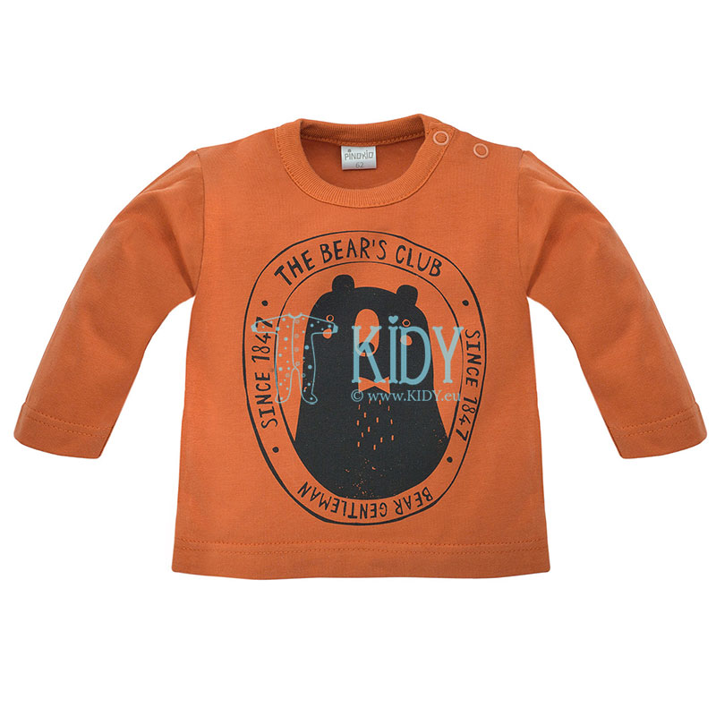 Rudi marškinėliai THE BEARS CLUB