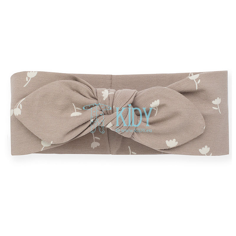 Brown TINY FLOWERS headband