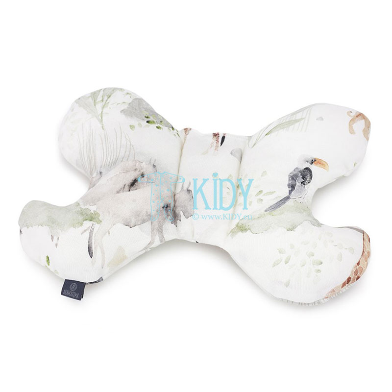 Bamboo Sawanna butterfly pillow
