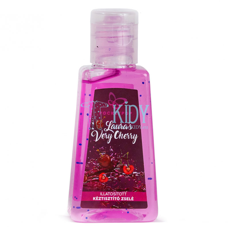 VERY CHERRY hand cleansing gel