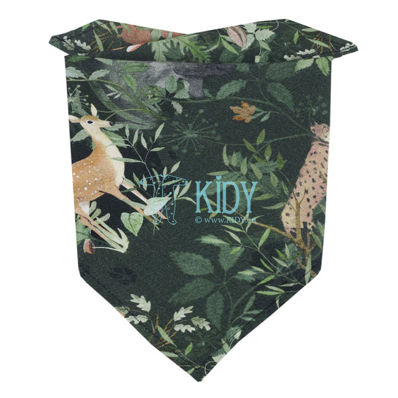 Woodland head kerchief-bandana